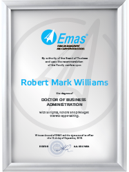 EMAS DBA degree